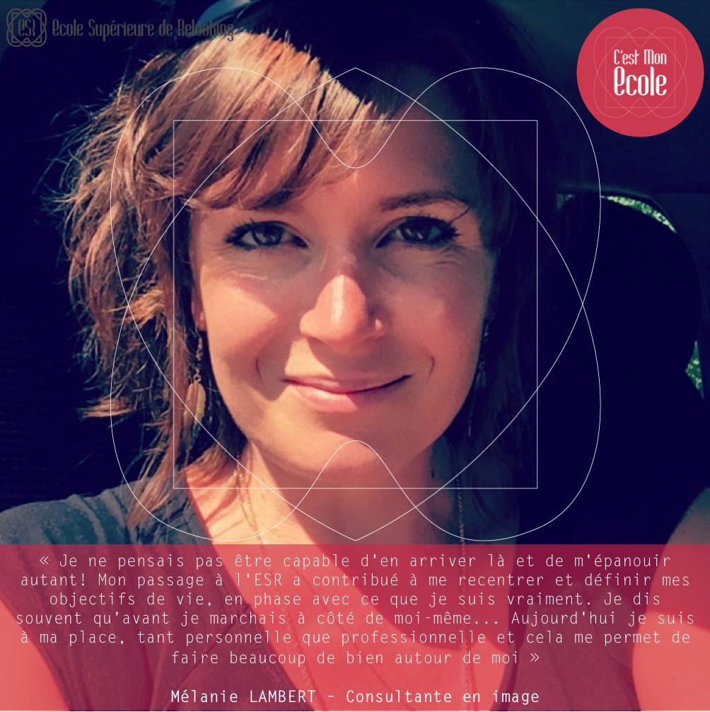 Interview Mélanie LAMBERT