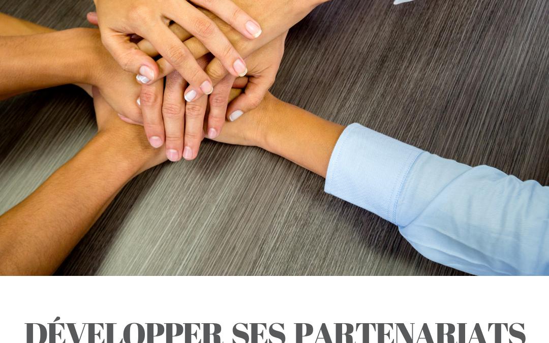 Développer ses partenariats – 1 jour