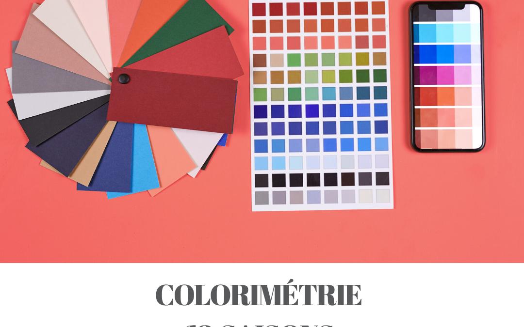 Colorimétrie 12 saisons