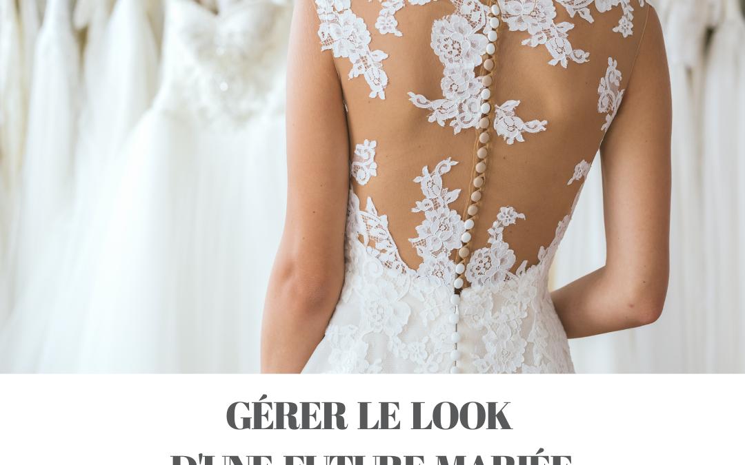 Gérer le look d'une future mariée